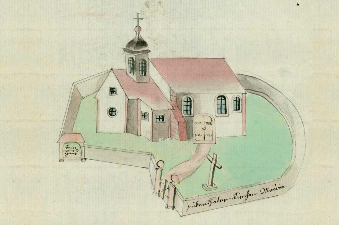 Kirchenskizze